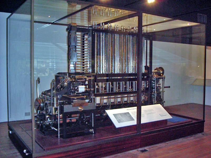 Fully Functional Babbage Difference Machine