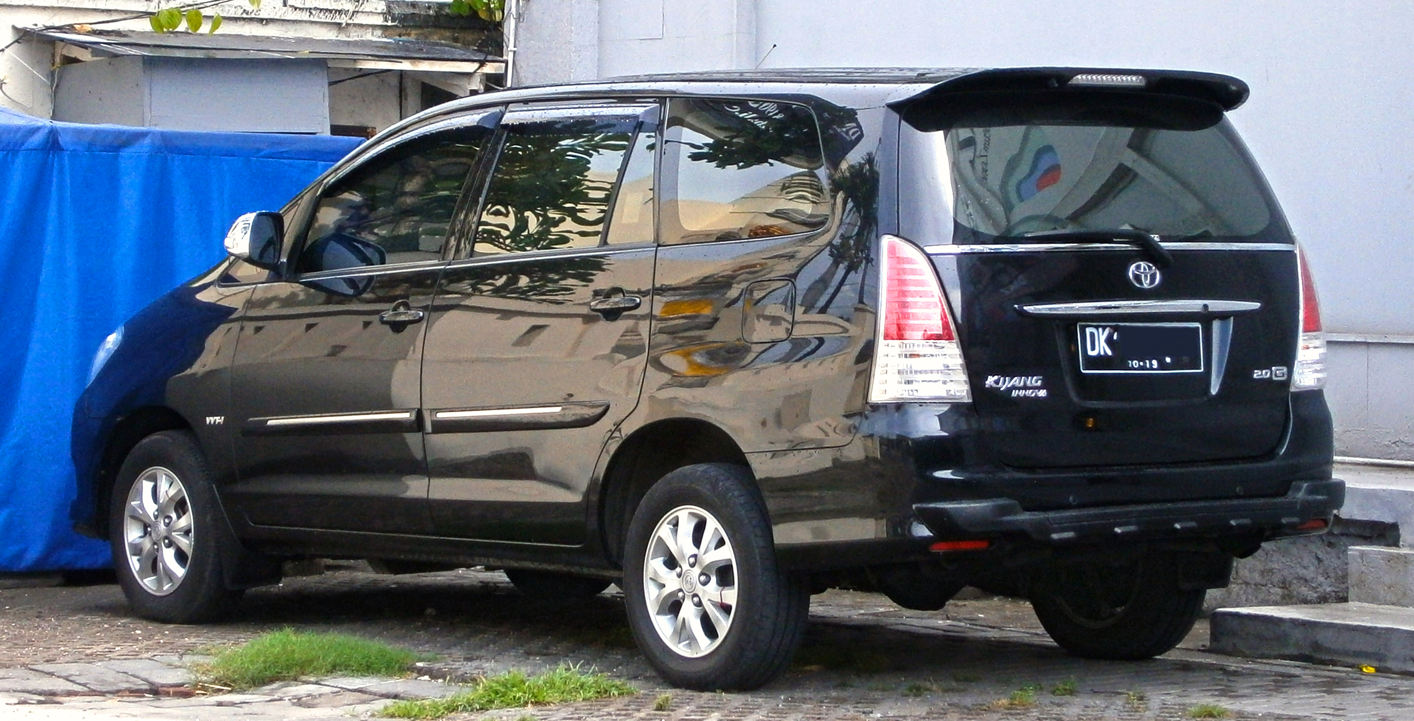 top speed all new kijang innova grand avanza vs veloz file 2008 2011 toyota 2 0g in kuta bali indonesia