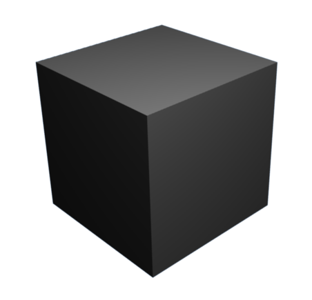 file cube with blender
