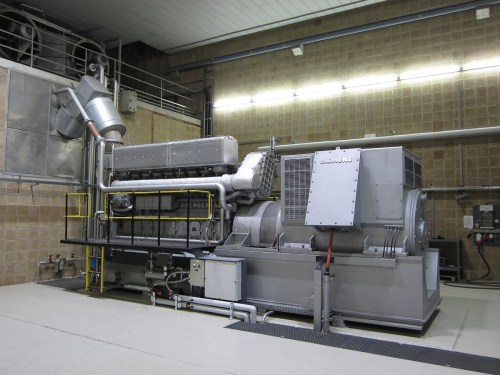 small resolution of emergency power electric generator in a water purification plant driven by a marine propulsion diesel engine