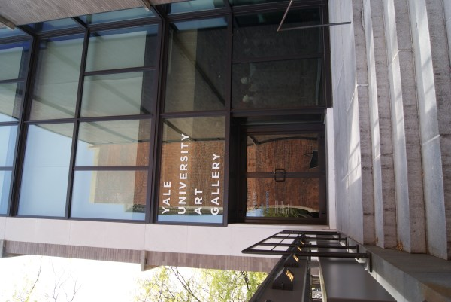 File Entrance Of Yale University Art