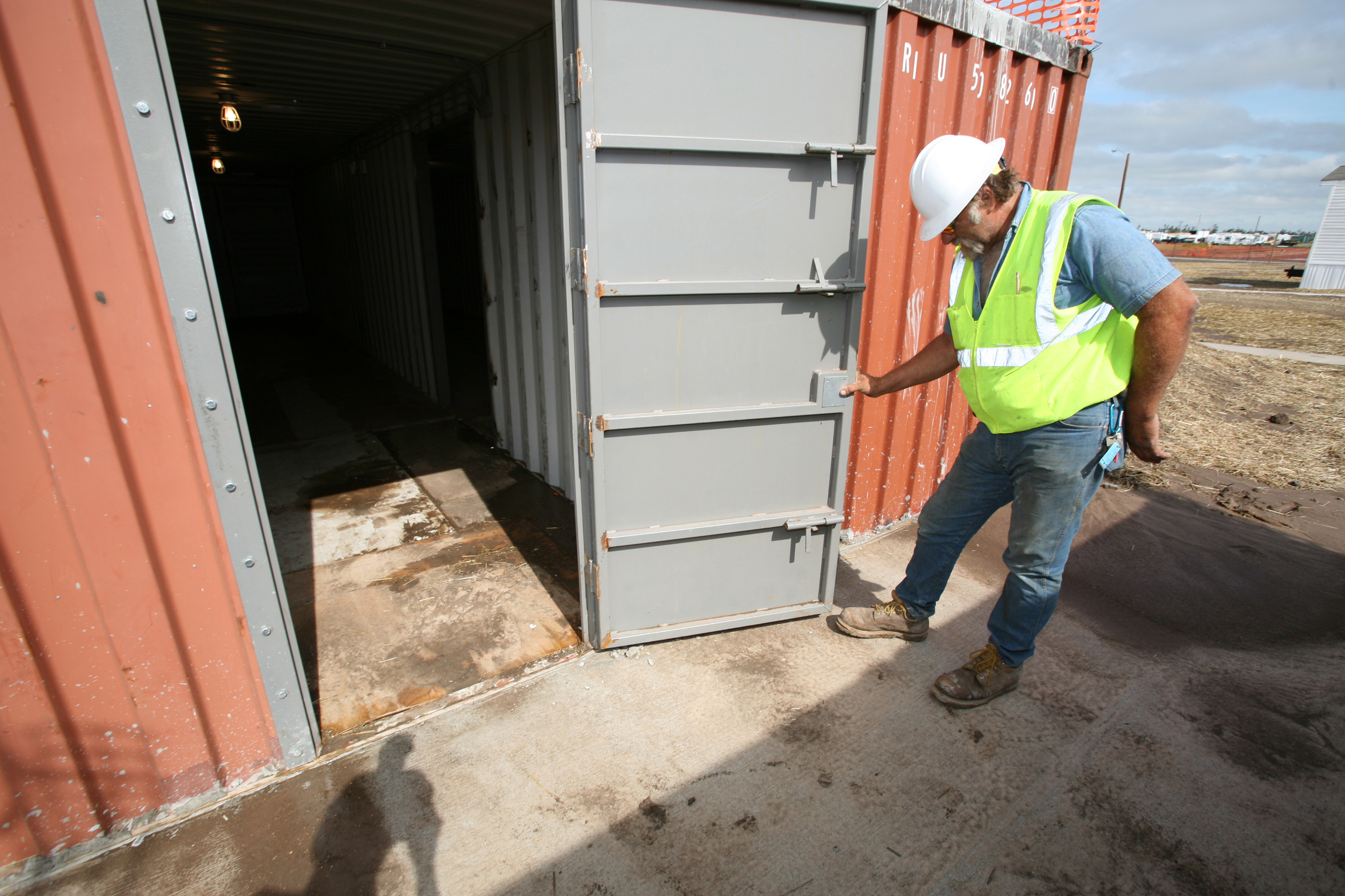 Best Kitchen Gallery: File Fema 31253 Storm Shelter Tornado In Kansas At Fema of Shipping Container Storm Shelter on rachelxblog.com