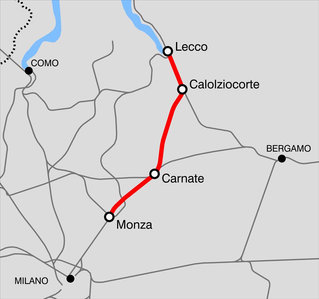 Lecco Milan Railway
