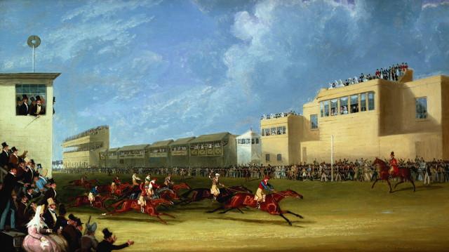 Datei:The Ascot Gold Cup 1834 James Pollard.jpg