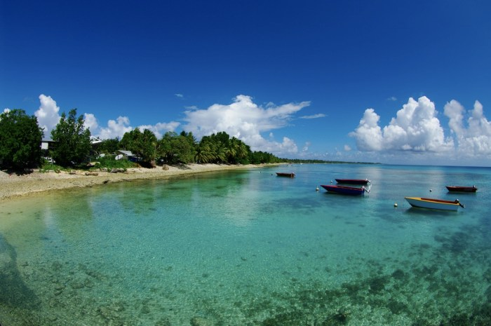Beach at Tuvulu