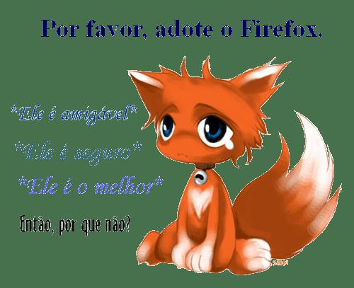 Olha o Firefox aí!