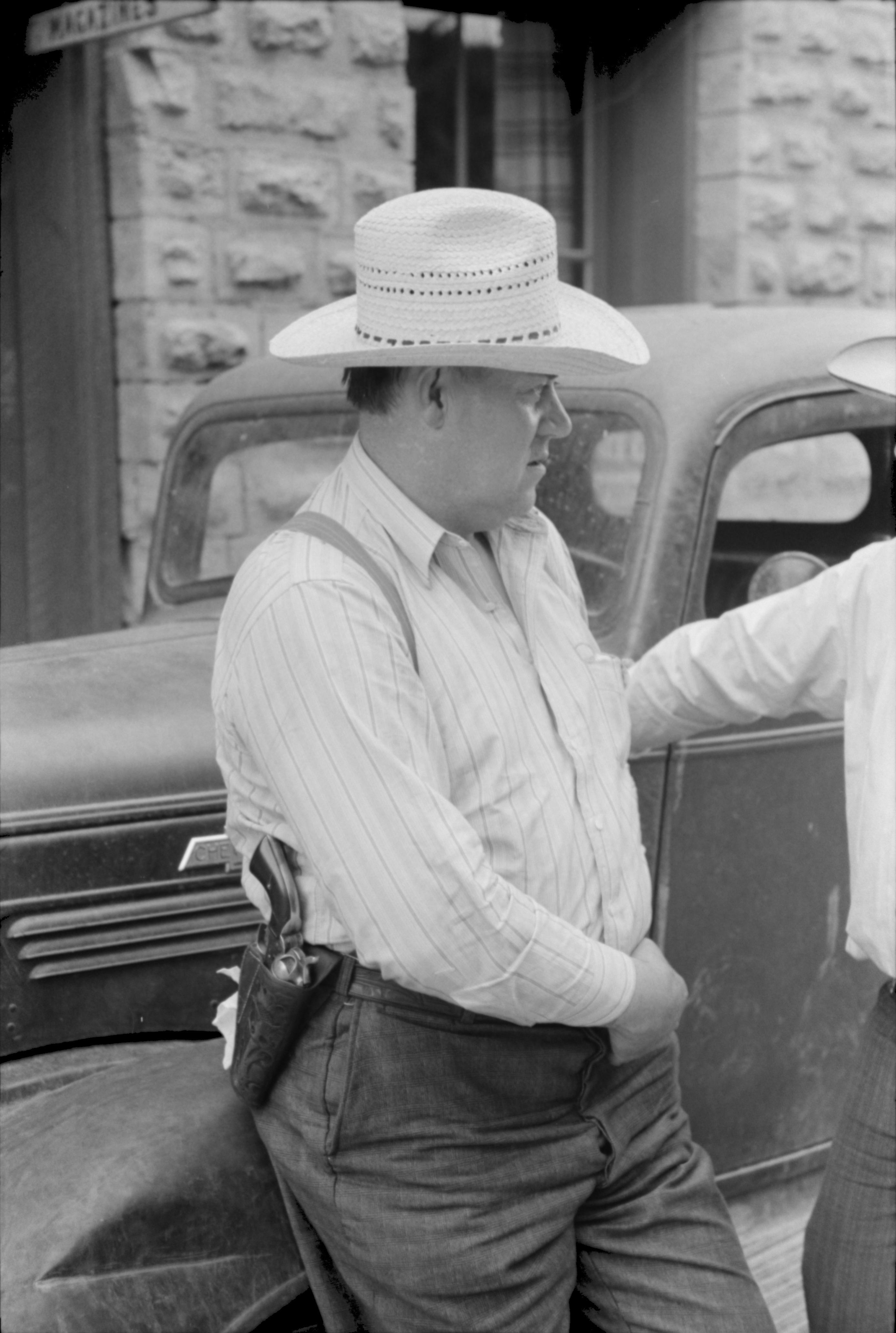 Deputy sheriff, Mogollon, New Mexico