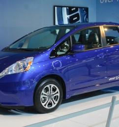 2013 model year honda fit ev electric car unveiled at the 2011 la auto show  [ 1600 x 1063 Pixel ]