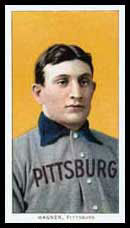 English: Honus Wagner baseball card circa 1910...