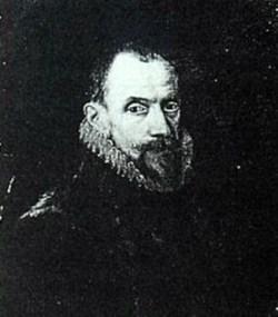 Retrato de Juan del Águila, realizado por Otto van Veen en 1587
