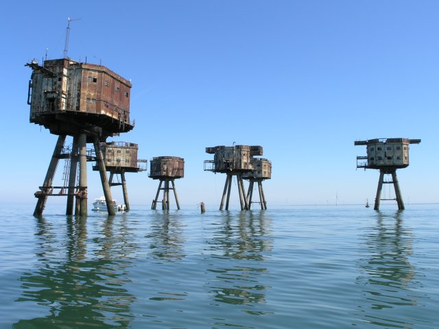 Maunsell Sea Forts, North Sea