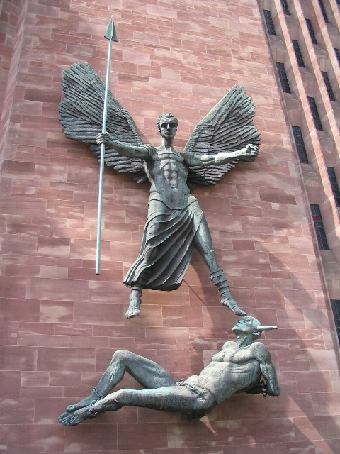 FileSt Michael and the Devil Coventry Cathedral  geographorguk  1268950jpg  Wikimedia