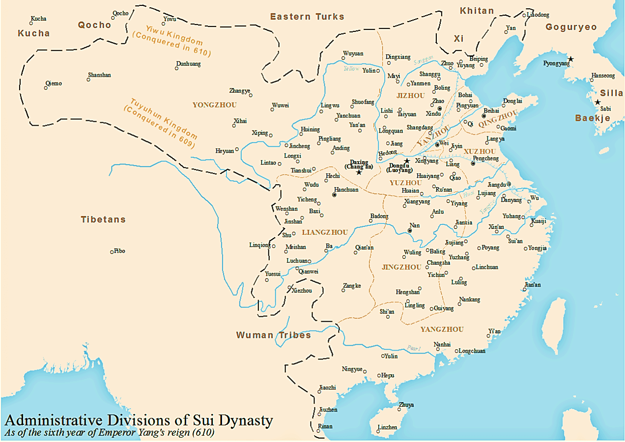History Of The Administrative Divisions Of China Before