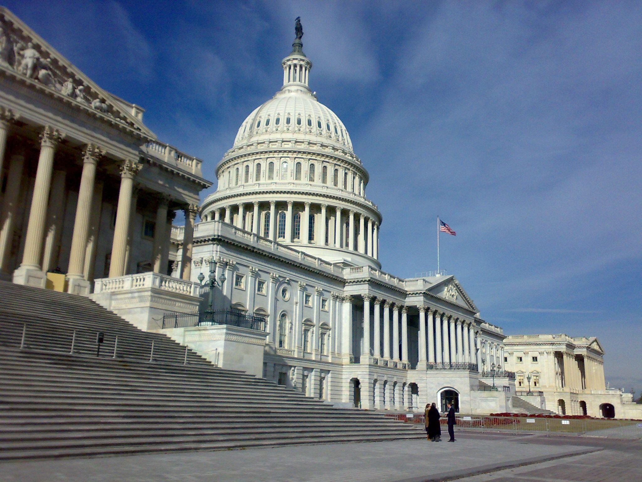 English: US Congress on Capitol Hill, Washingt...