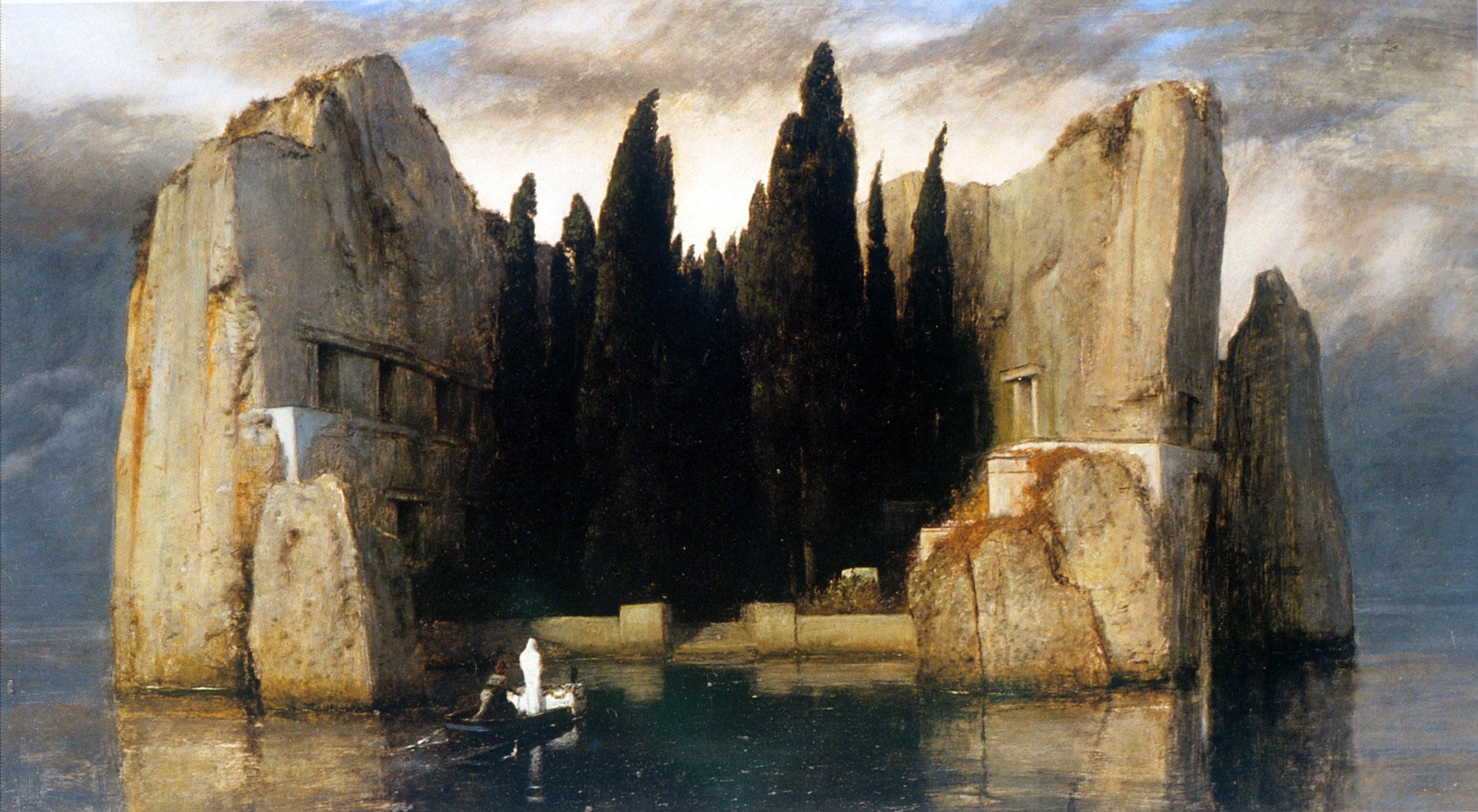 ベックリン 死の島