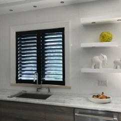 Kitchen Window Shutters Wooden Kids File Black Custom California Fitted To A In Toronto Jpg