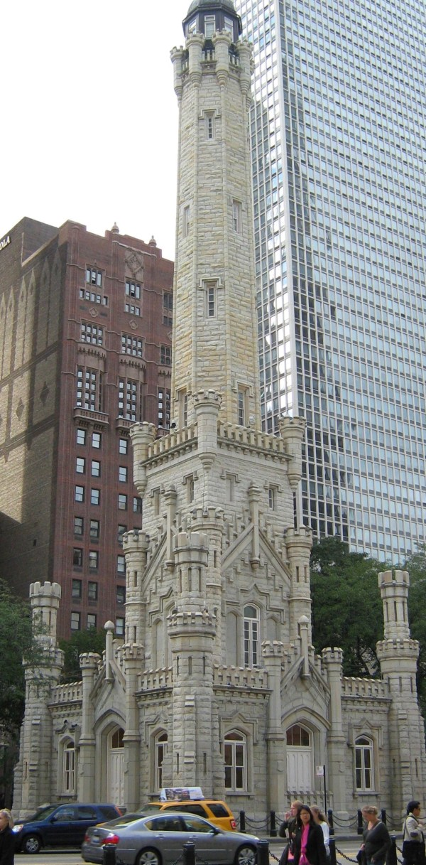 File Chicago Water Tower October 2008 - Wikimedia Commons