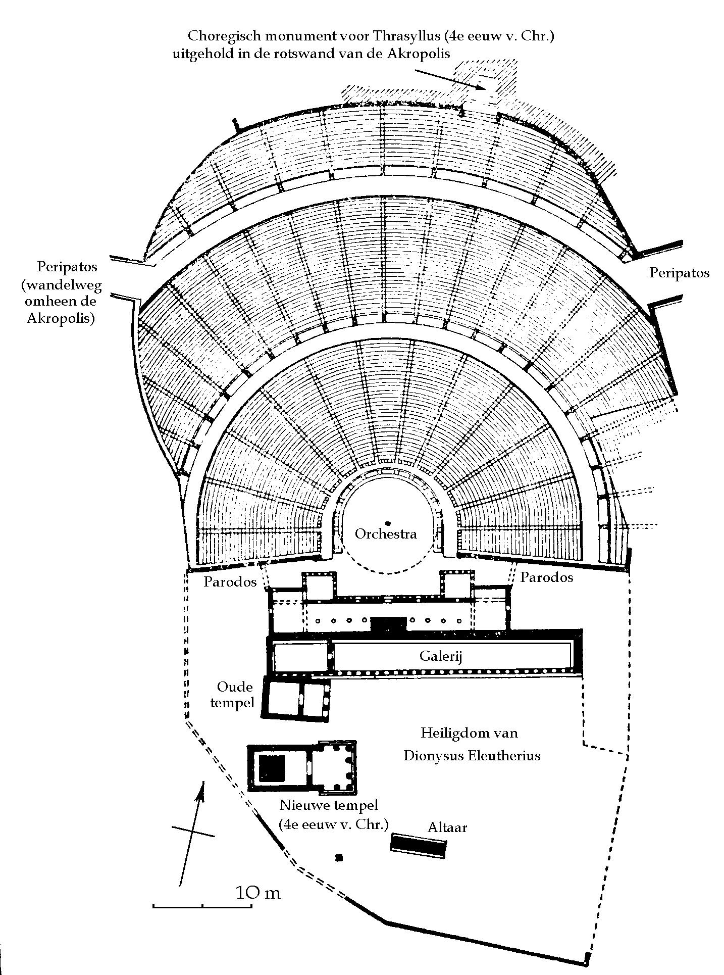theater greek diagram automotive electrical wiring diagrams ancient theatre of dionysos athens and odeon