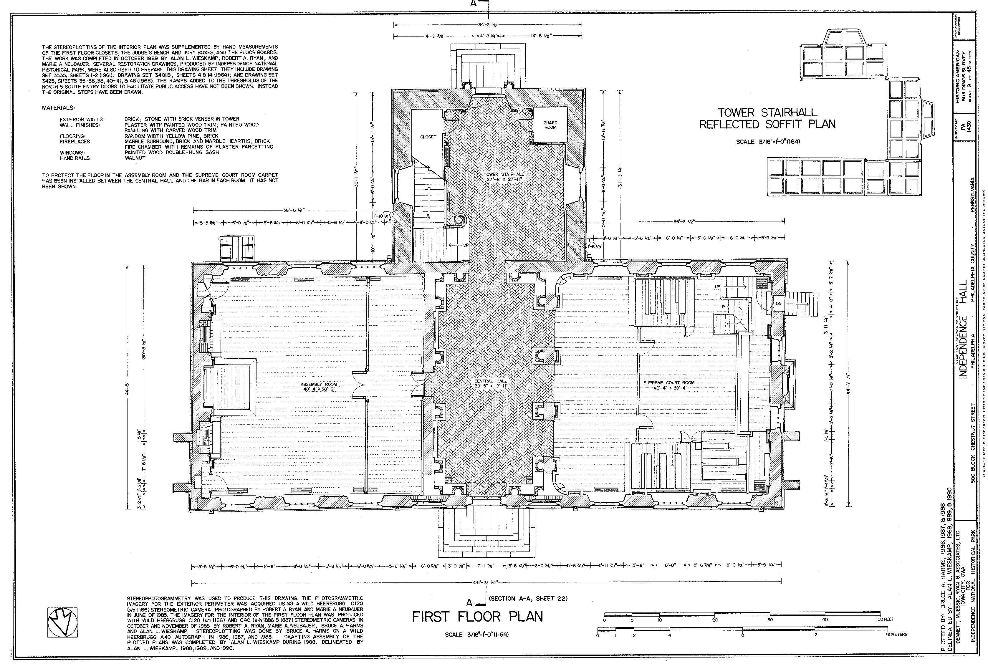 Datoteka Habs Measured Drawing Of The First Floor Of