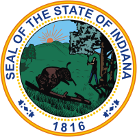 The Great Seal of the State of Indiana