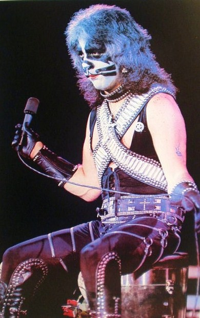 Ace Frehley No Makeup 70s