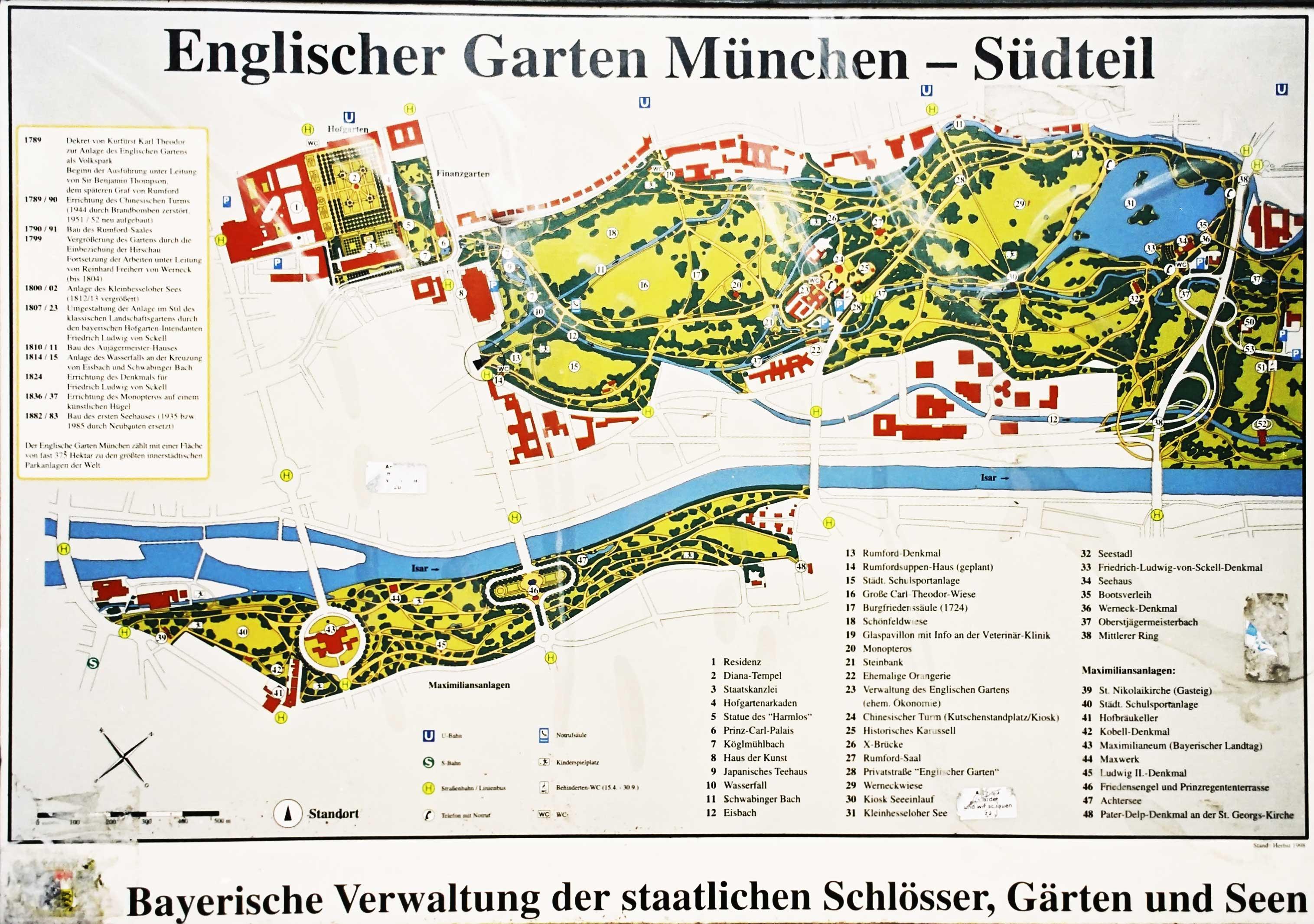 Englischer Garten München Komoot Cycling & Hiking App