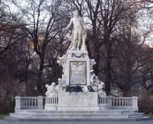 Mozart Monument Vienna
