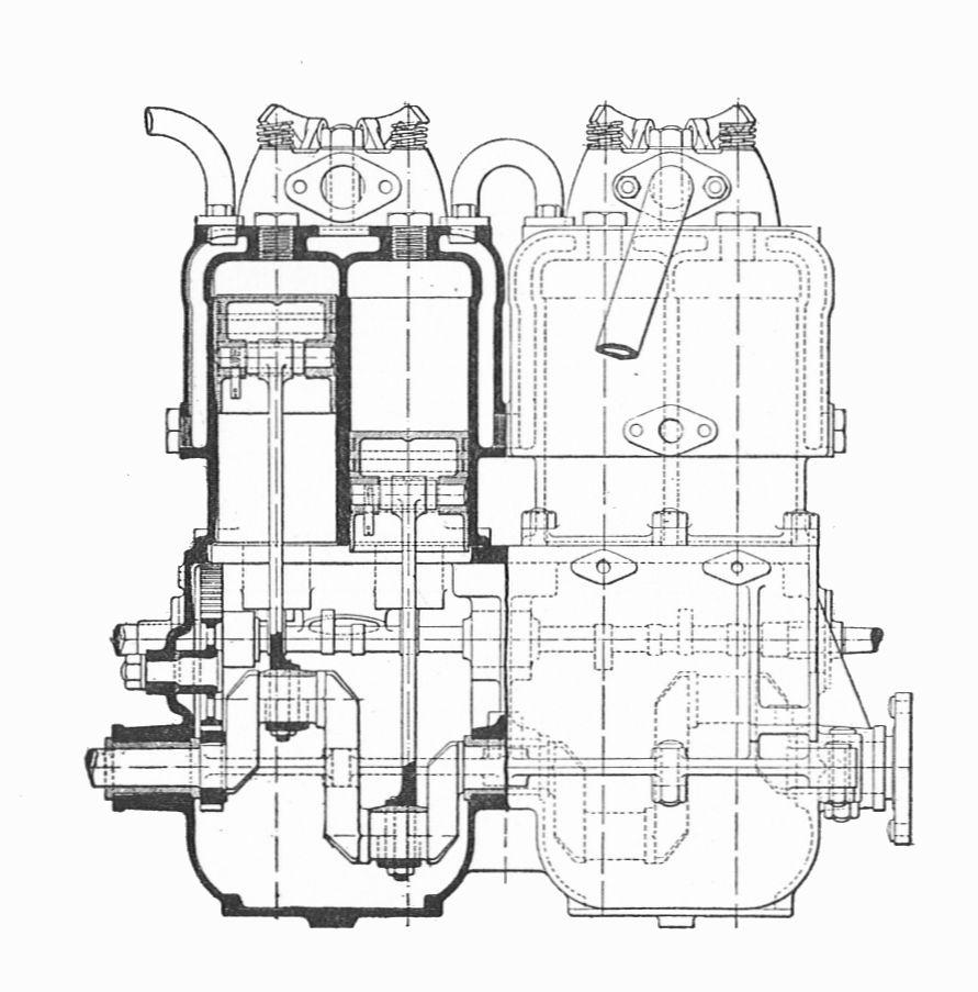 File:Napier petrol boat engine, side section (Rankin