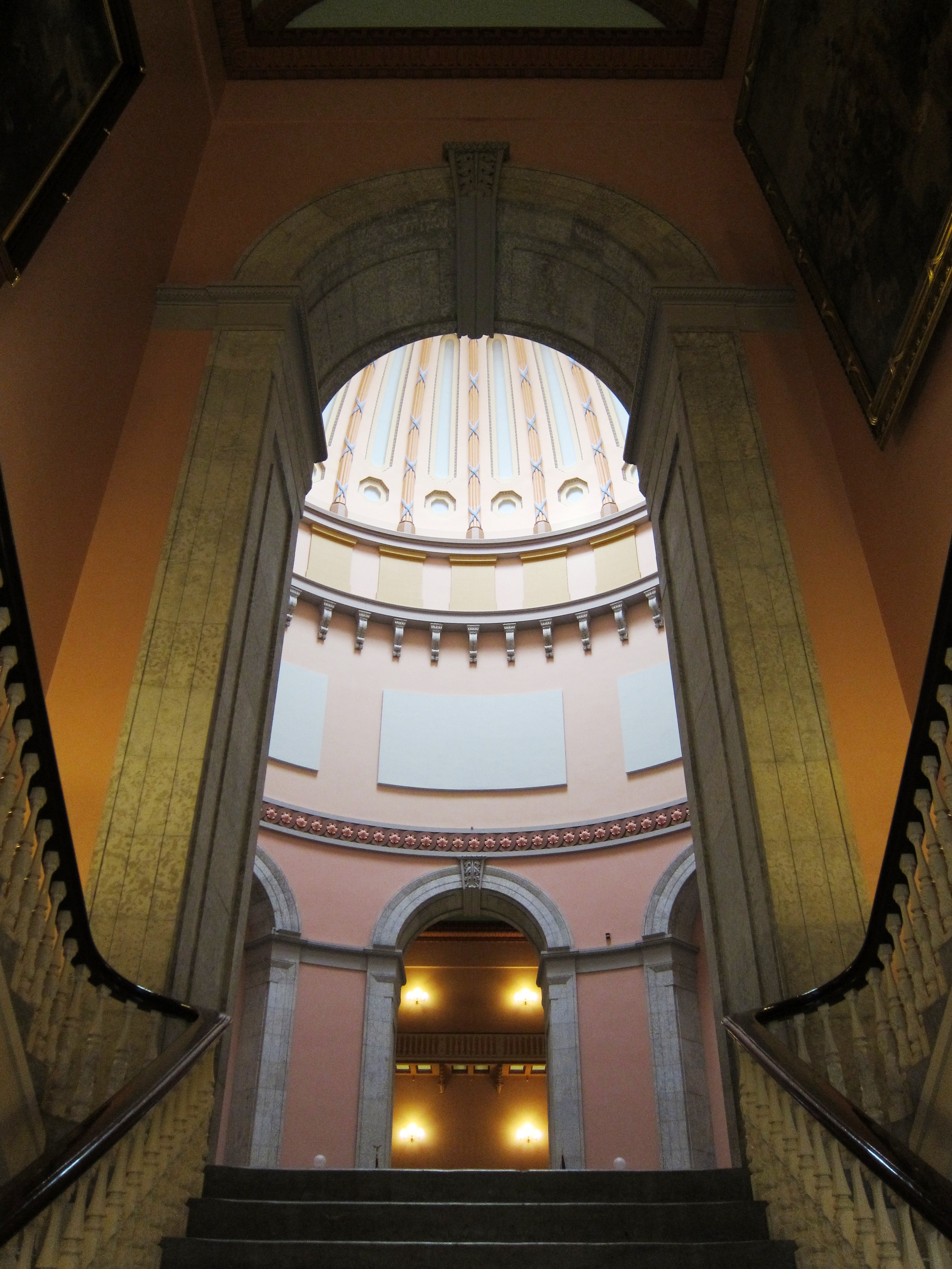 FileOhio Statehouse Columbus Ohio  view of rotunda