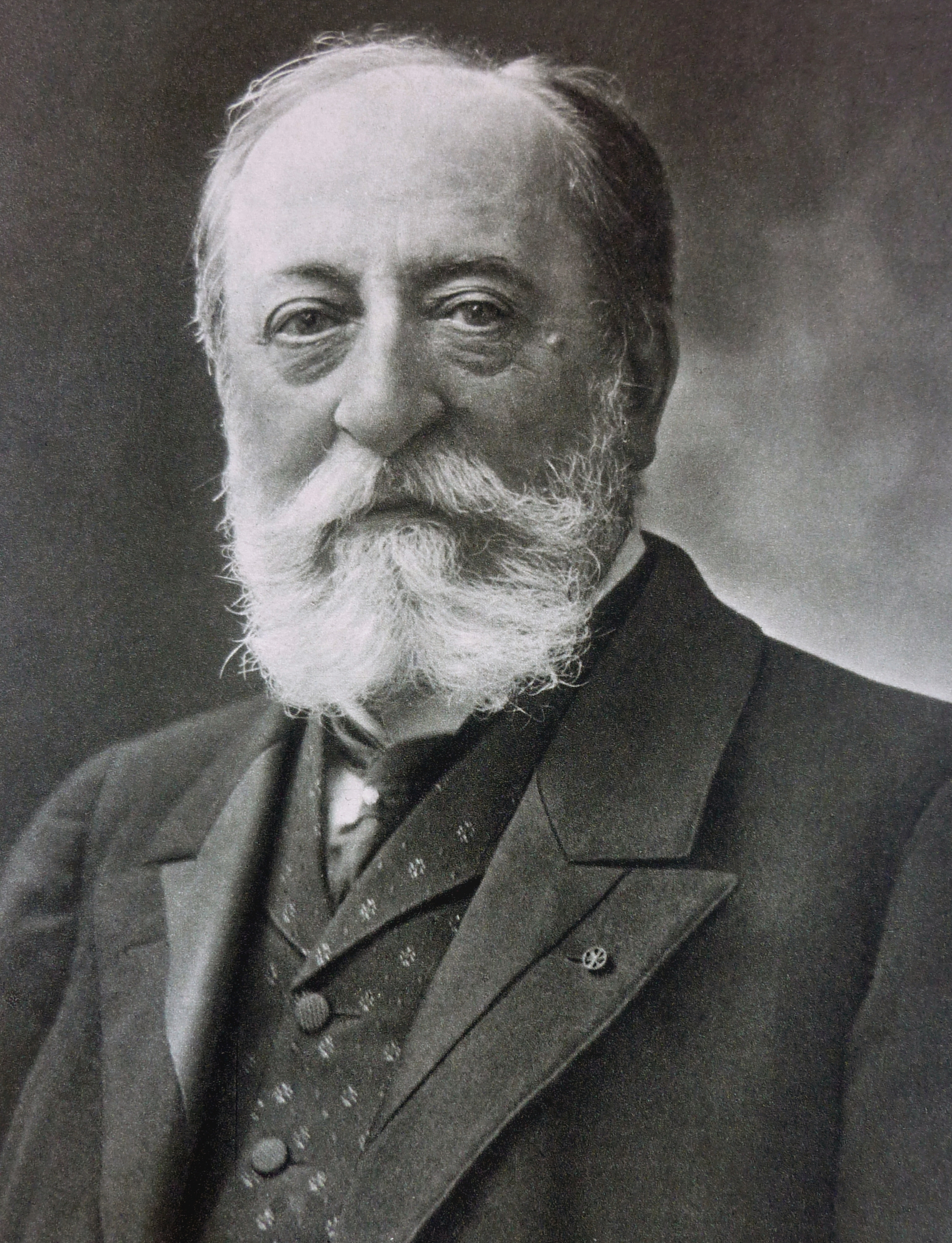 Charles Camille Saint-Saëns Français : Portrai...