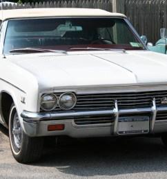 file white 1966 chevrolet impala ss convertible jpg [ 2354 x 1392 Pixel ]