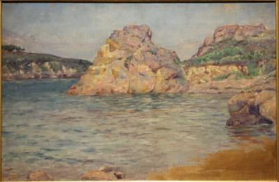 File:An Island Brehat by Keiichiro Kume, 1891, oil on ...