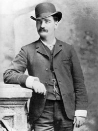 US Marshal Bat Masterson, c. 1879.