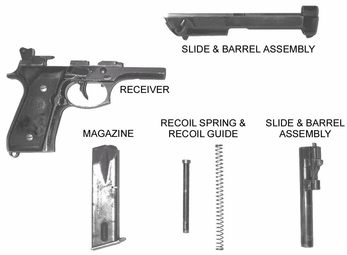 hight resolution of pistol