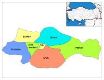 Siirt Province Turkey