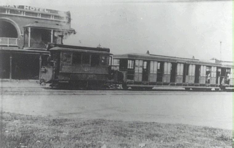A Sutherland-Cronulla tram