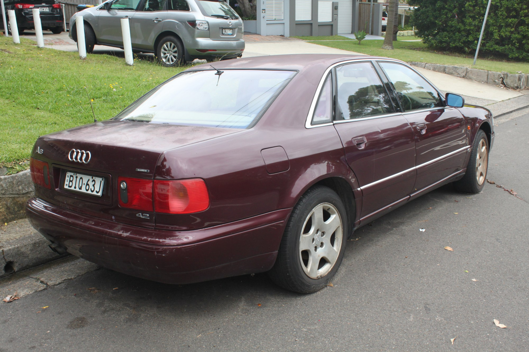 hight resolution of pre facelift audi a8 4 2 quattro