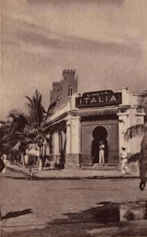 Old Postcard of Italian Somalia, dated 1937, s...
