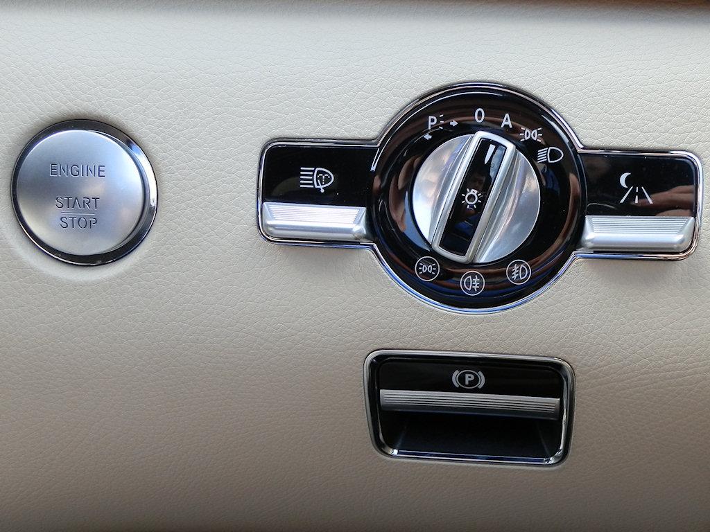 hight resolution of file mercedes w221 start button light switch and parking brake jpg