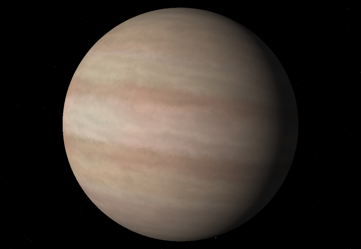 Sudarsky S Gas Giant Classification