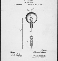 file drawing of the incandescent light bulb by thomas edison 01 27  [ 2463 x 3540 Pixel ]