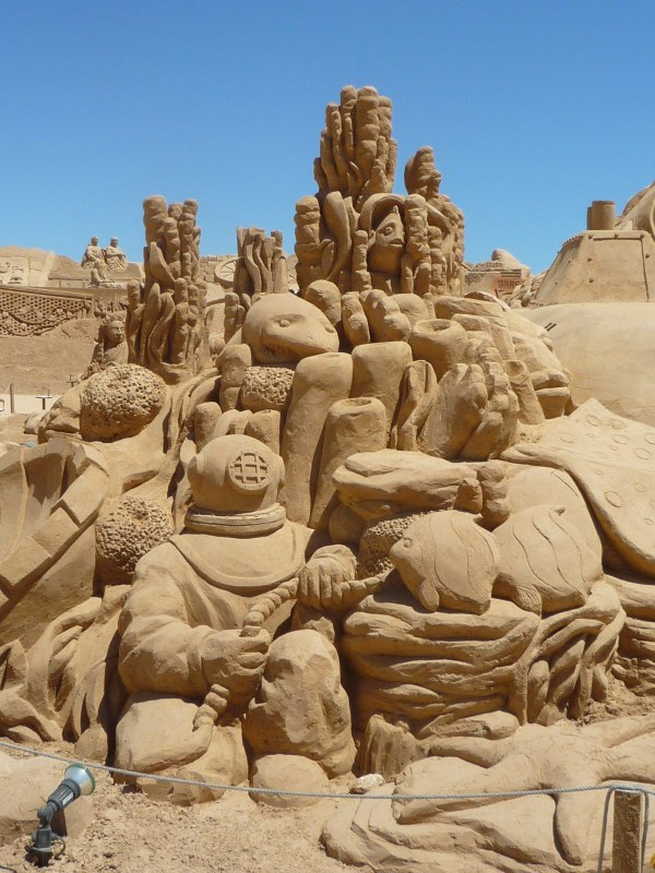 Beautiful Sand Sculpture