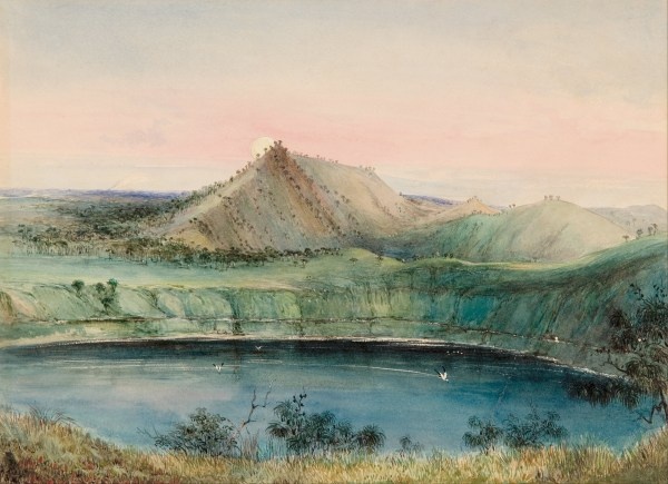 File George French Angas - Blue Lake Mount Gambier
