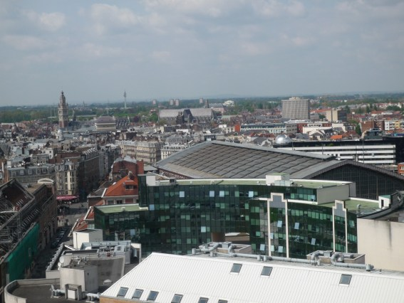 Lille aerial view