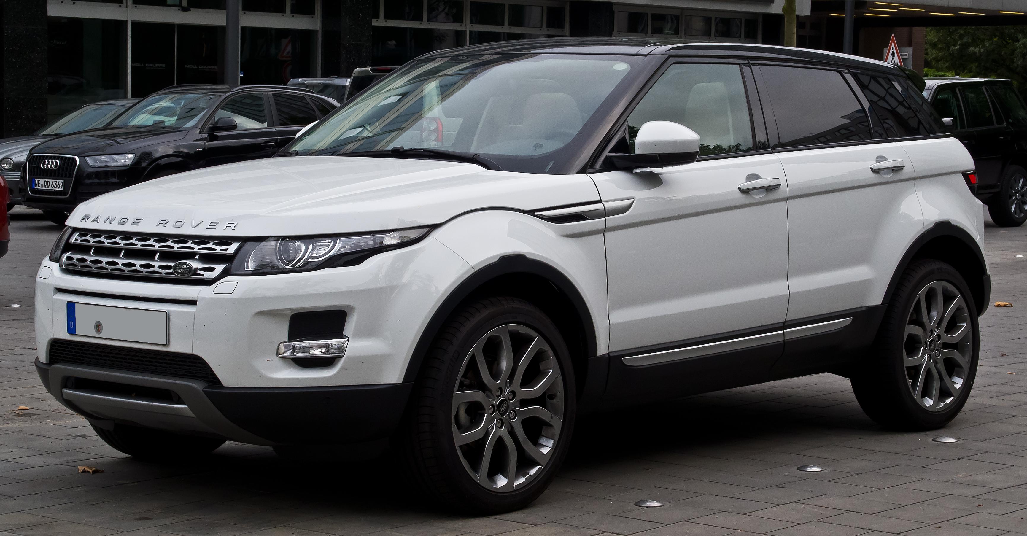 Filerange Rover Evoque Sd4 4wd Prestige Frontansicht
