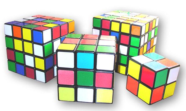 Rubik's cube variations