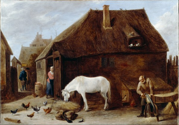 File Teniers David Younger - Chaff-cutter