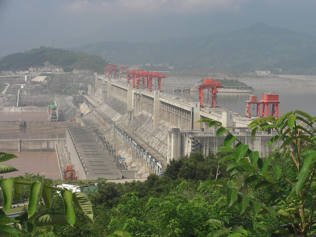 3 Gorge Dam in China