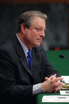 English: Al Gore's Hearing on Global Warming