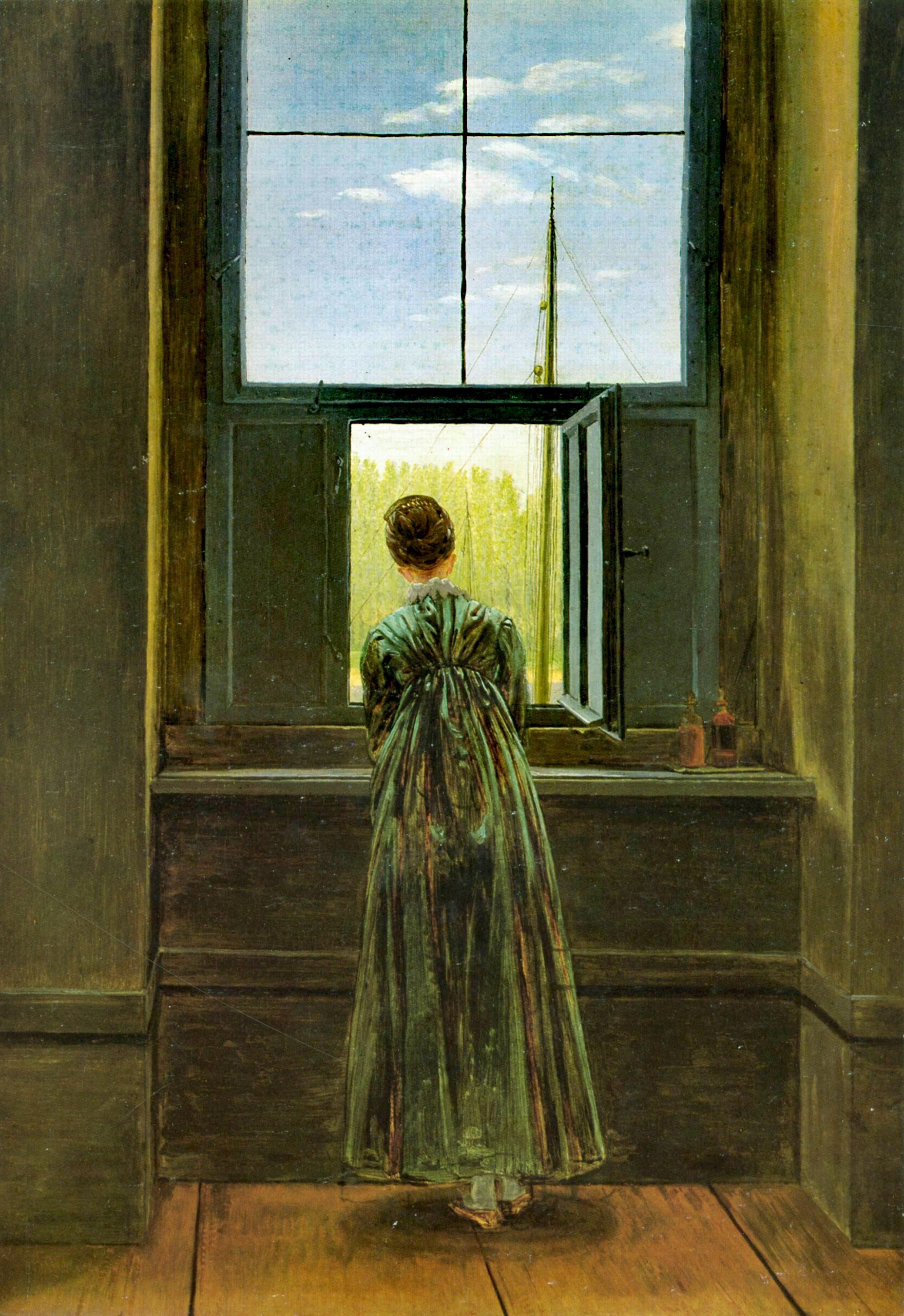 La Femme A La Fenetre : femme, fenetre, Femme, Fenêtre, Wikipédia
